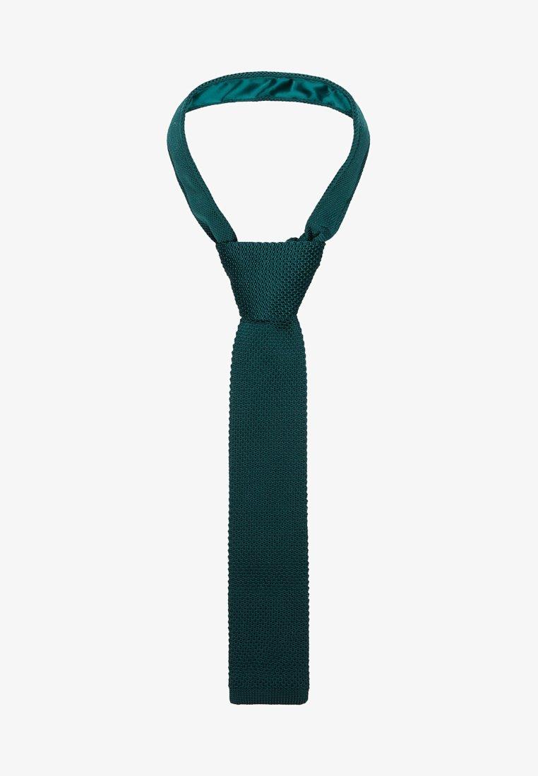 Twisted Tailor - JAGGER - Corbata - bottle green