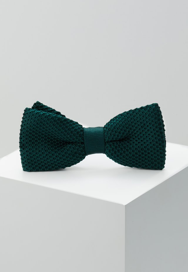 JAGGER - Bow tie - bottle green