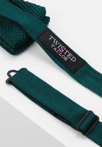 Twisted Tailor - JAGGER - Motýlek - bottle green - 2