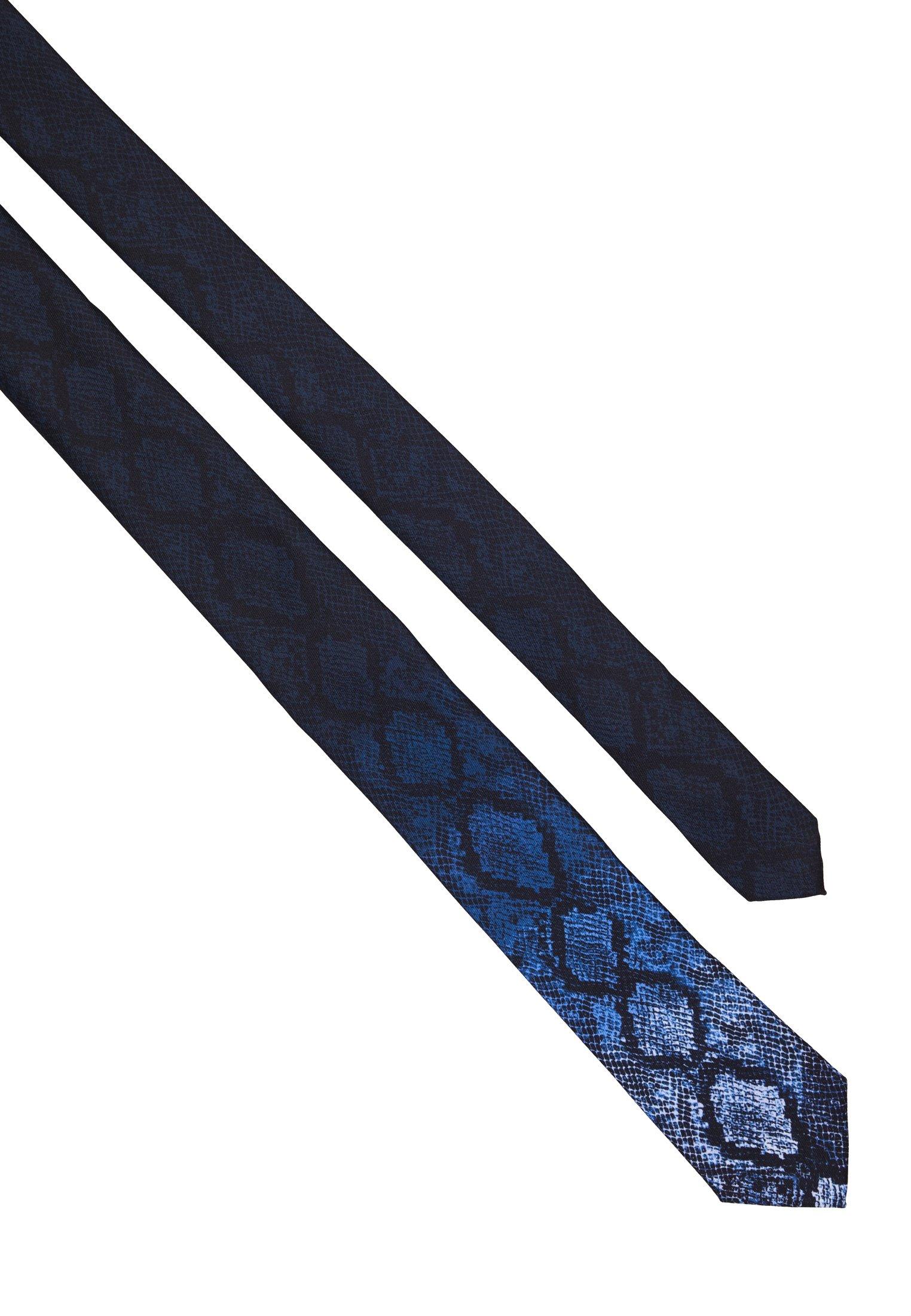 Twisted Tailor CARROLL TIE - Tie - blue