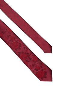 Twisted Tailor - GRANT TIE - Kravata - bordeaux/red - 2