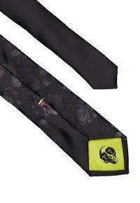 Twisted Tailor - GRANT TIE - Kravata - black/grey - 3