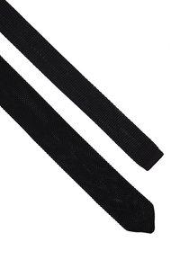 Twisted Tailor - BOWIE TIE - Kravata - black - 2