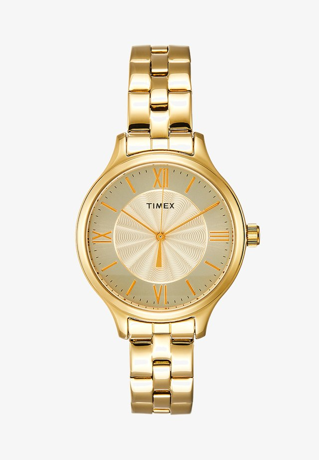 WOMENS TREND TONE CASE & BRACELET - Watch - gold-coloured