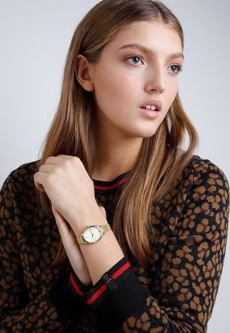 Timex - Watch - gold-coloured