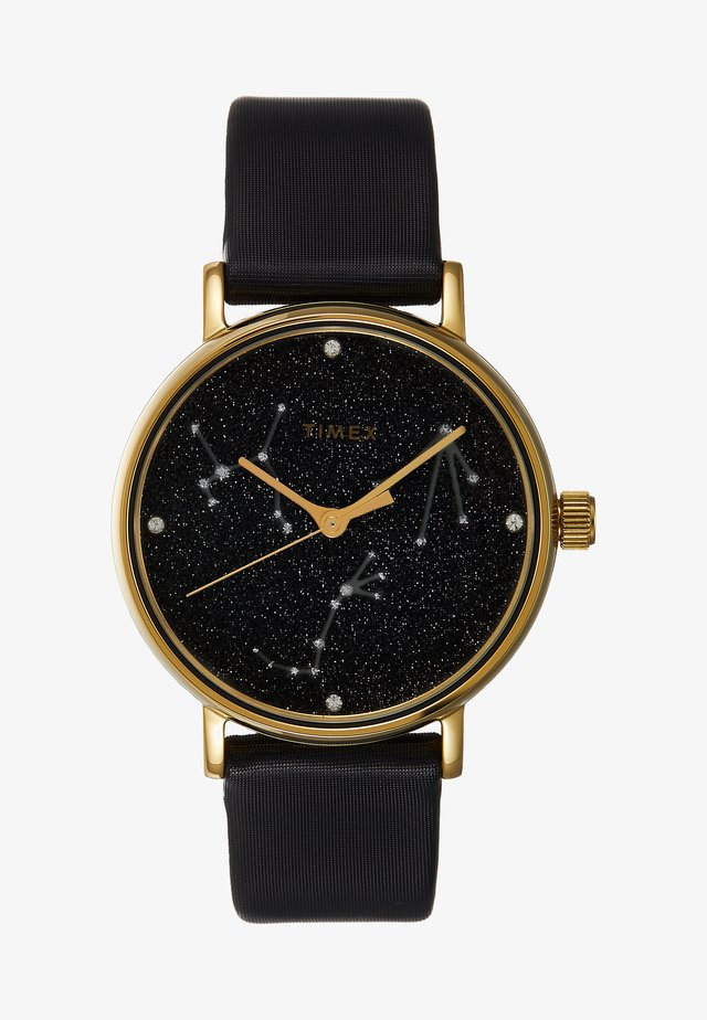 WOMEN'S CELESTRIAL OPULENCE WITH SWAROVSKI BLACK DIAL - Watch - black