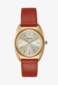Timex - MILANO CASE DIAL STRAP - Watch - burgundy - 1