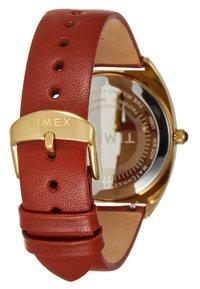 Timex - MILANO CASE DIAL STRAP - Watch - burgundy - 2