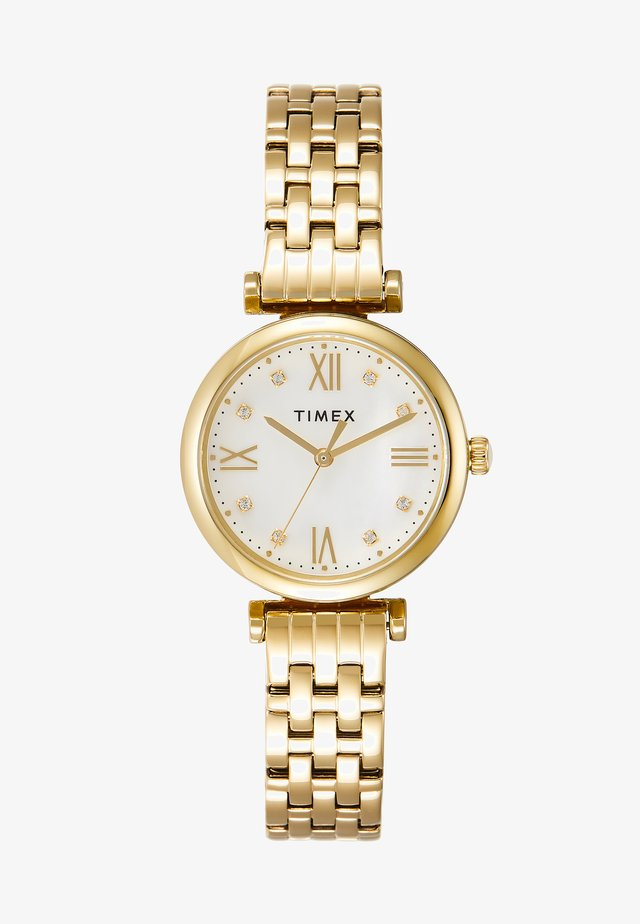 WOMENS DRESS CASE DIAL SWAROVSKI ACCENT - Watch - gold-coloured