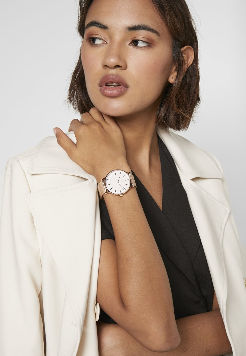 Timex - WOMENS TRANSCEND TONE CASE DIAL - Watch - rose gold-coloured