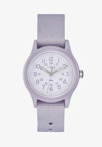 Timex - WOMENS CAMPER CASE WHITE DIAL STRAP - Watch - purple - 1