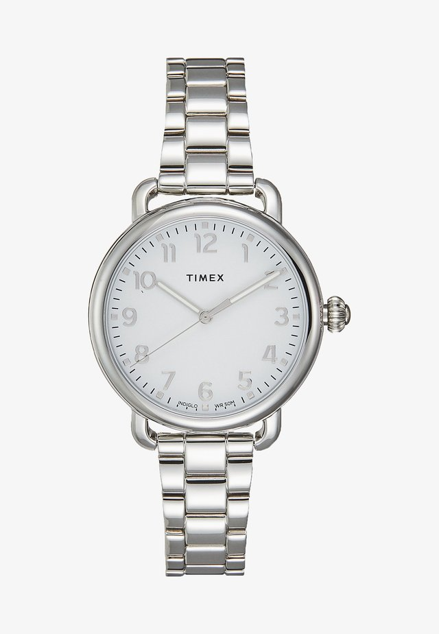 Uhr - silver-coloured