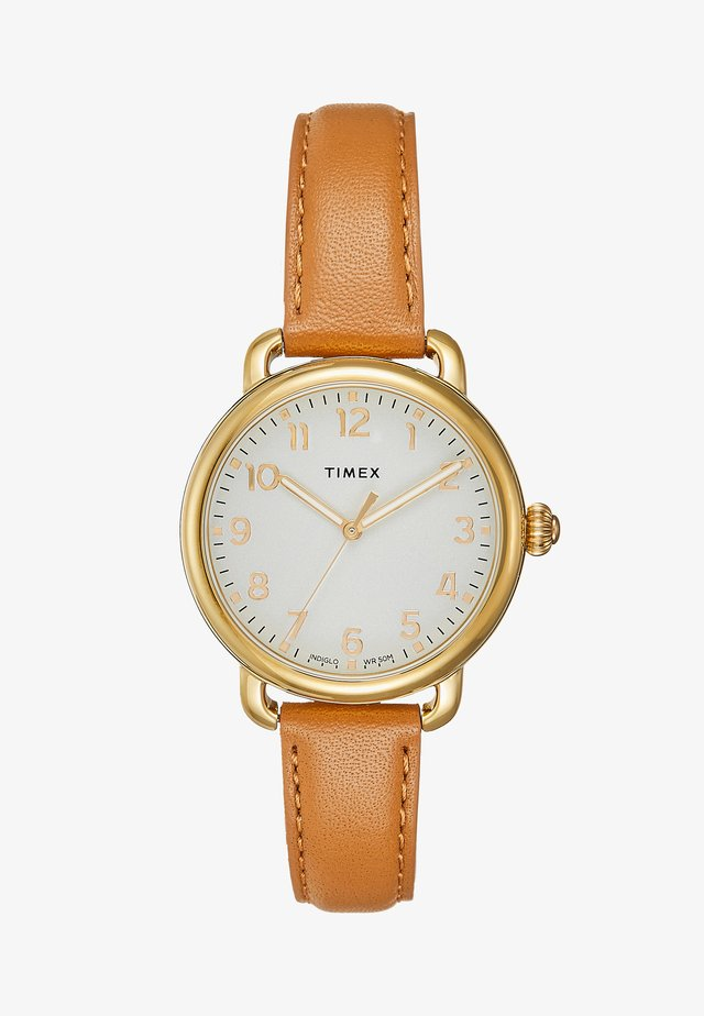 Uhr - gold-coloured/camel
