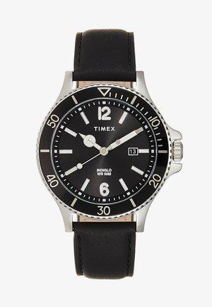 HARBORSIDE 42 mm BRACELET - Watch - black/silver-coloured