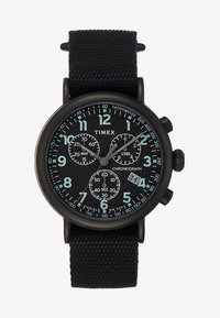 Timex - STANDARD CHRONOGRAPH 41 mm - Hodinky se stopkami - all black - 1
