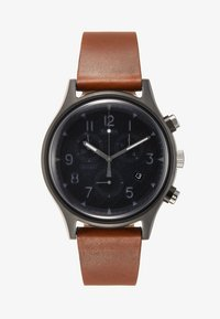 Timex - MK1 STEEL SUPERNOVA CHRONOGRAPH - Hodinky se stopkami - brown/grey - 1