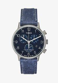 Timex - WATERBURY CLASSIC - Chronograph watch - blue - 1