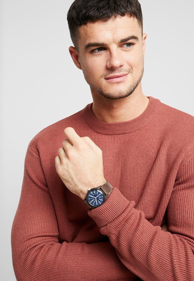 Timex - Horloge - navy/brown