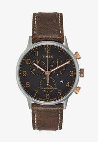 Timex - WATERBURY CLASSIC - Hodinky - silver/brown - 1