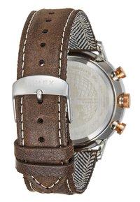 Timex - WATERBURY CLASSIC - Hodinky - silver/brown - 2