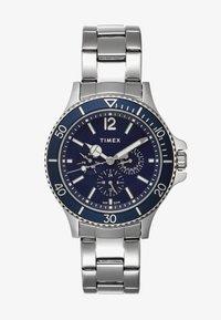 Timex - HARBORSIDE - Hodinky - silver-coloured/blue - 0