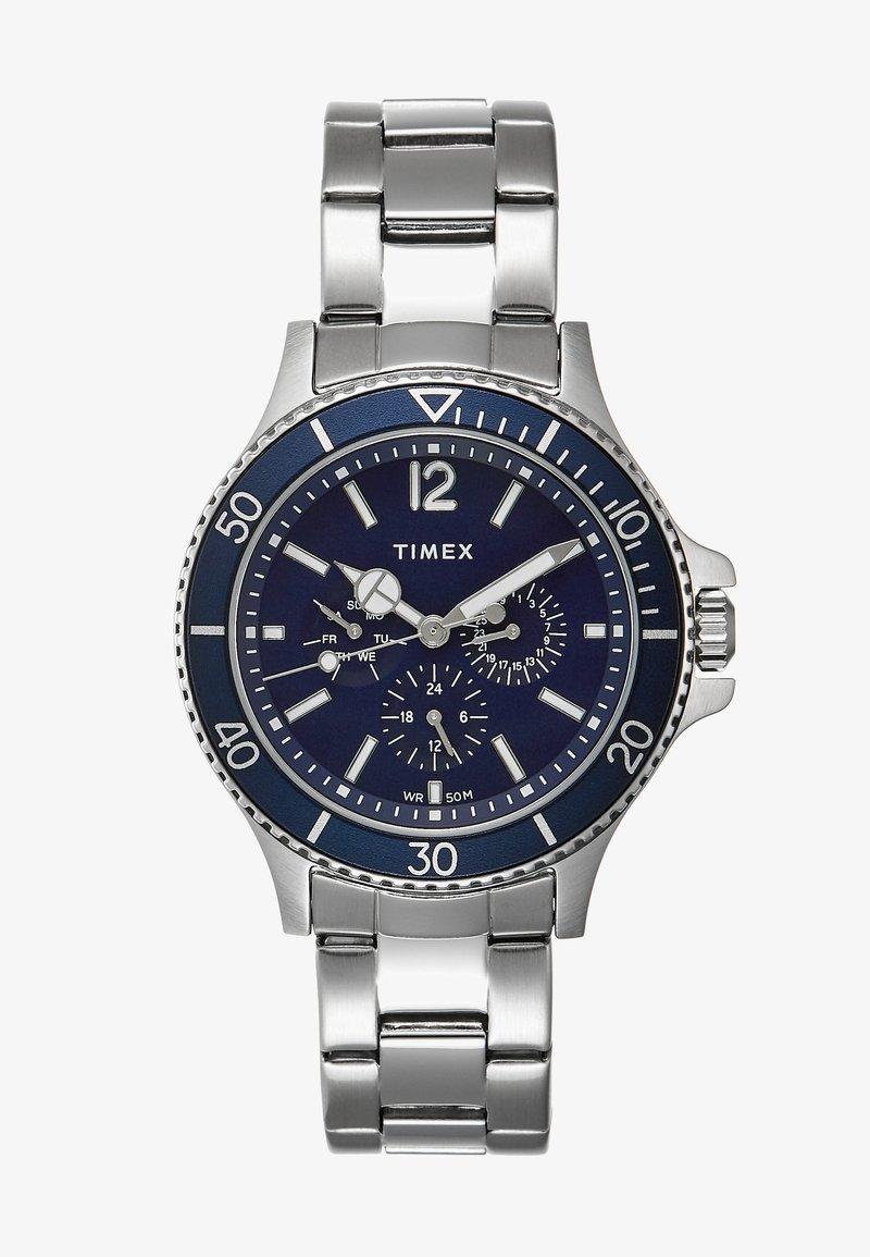 Timex - HARBORSIDE - Hodinky - silver-coloured/blue