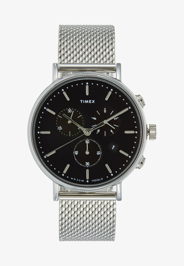 THE FAIRFIELD CHRONOGRAPH 41 mm MESH - Hodinky se stopkami - silver-coloured