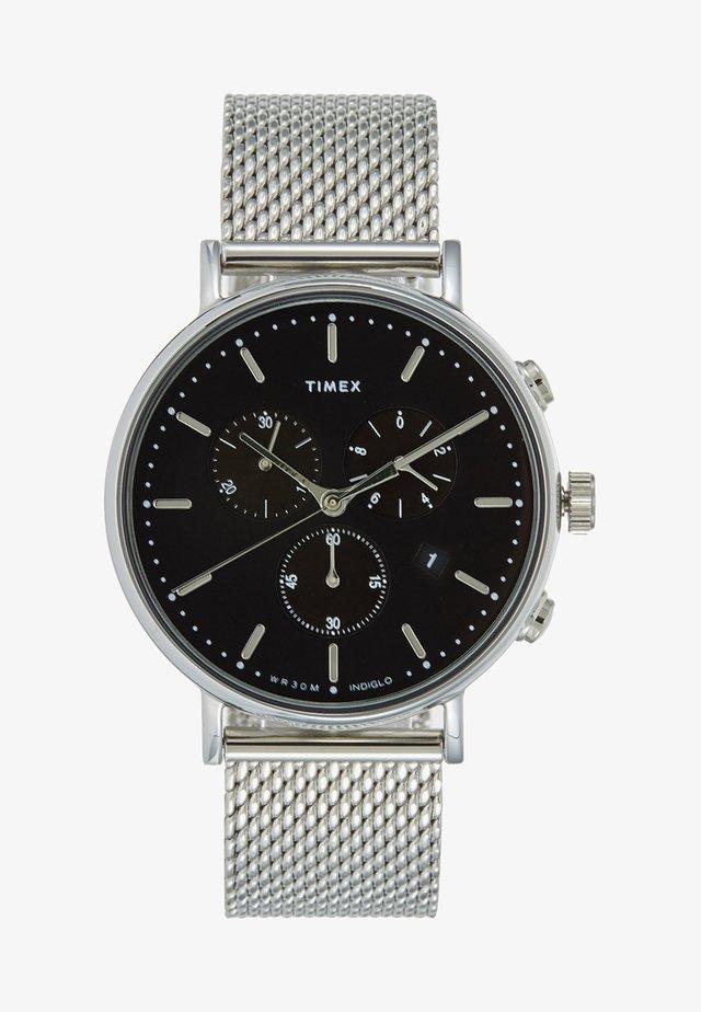THE FAIRFIELD CHRONOGRAPH 41 mm MESH - Chronograph watch - silver-coloured