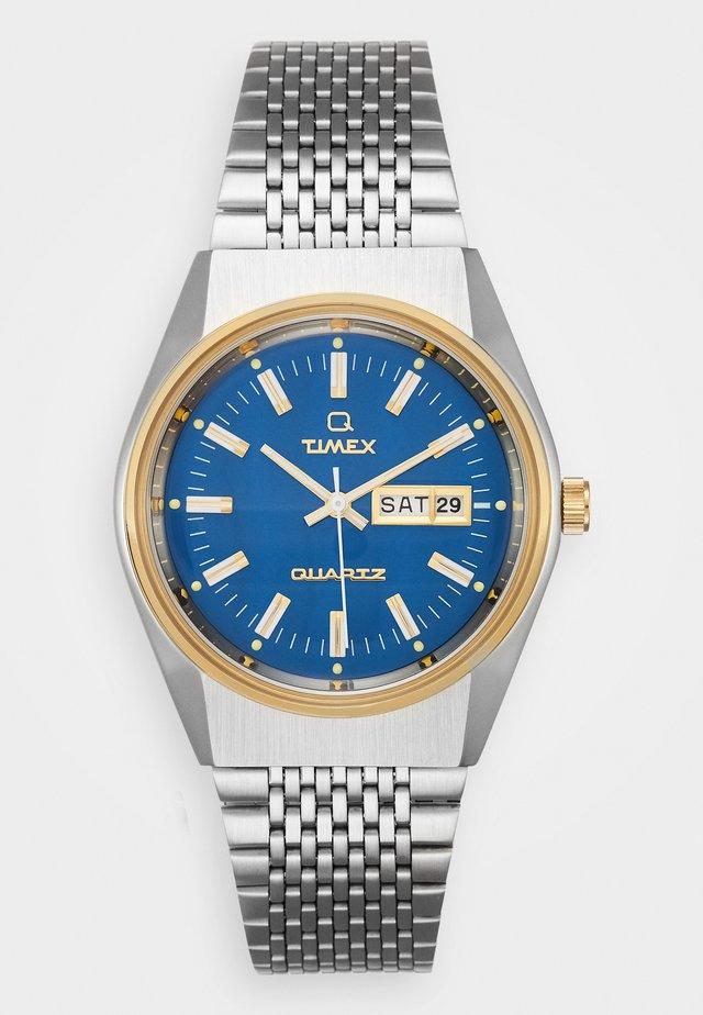 Q EYE REISSUE - Watch - silver-coloured/blue