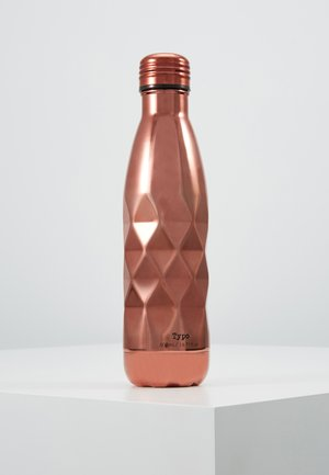 DRINK BOTTLE LASER 500ML - Jiné - rose gold-coloured faceted
