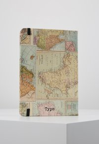 TYPO - JOURNAL NOVELTY JOURNAL SLOTH PEN SET - Jiné - grid world map - 3