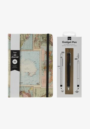 JOURNAL NOVELTY JOURNAL SLOTH PEN SET - Jiné - grid world map