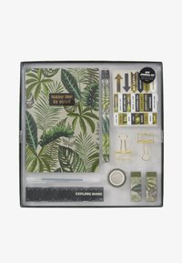 TYPO - DOT JOURNAL GIFT SET - Accessoires - Overig - fern foliage dark ground - 1