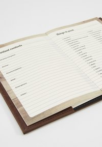 TYPO - TRAVEL ZIP JOURNAL - Annet - rich tan - 5