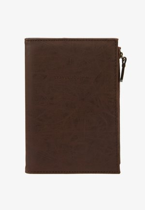 TRAVEL ZIP JOURNAL - Pozostałe - rich tan