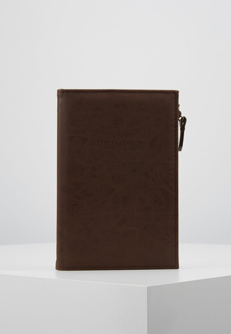 TYPO - TRAVEL ZIP JOURNAL - Accessoires - rich tan