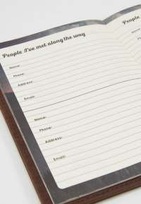 TYPO - TRAVEL ZIP JOURNAL - Annet - rich tan - 6