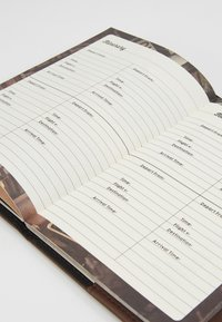 TYPO - TRAVEL ZIP JOURNAL - Annet - rich tan - 2