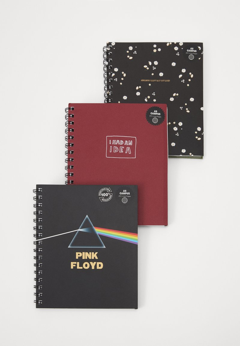 TYPO - A5 CAMPUS NOTEBOOKS 3 PACK - Accessoires - Overig - multi-coloured