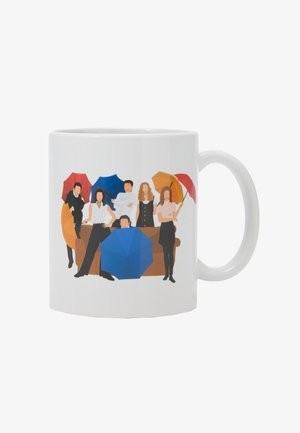 ANYTIME MUGS FRIENDS ILL BE THERE 4 PACK - Pozostałe - white