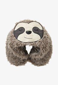TYPO - TRAVEL PILLOW WITH HOOD - Jiné - sloth - 1