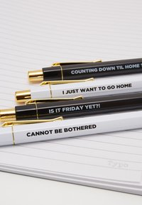 TYPO - NOTE BOOK PEN SET - Other - black - 2