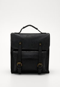 TYPO - SATCHEL BACKPACK - Reppu - black - 0