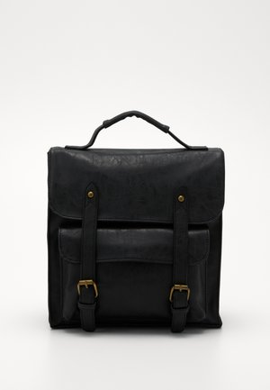 SATCHEL BACKPACK - Rucksack - black