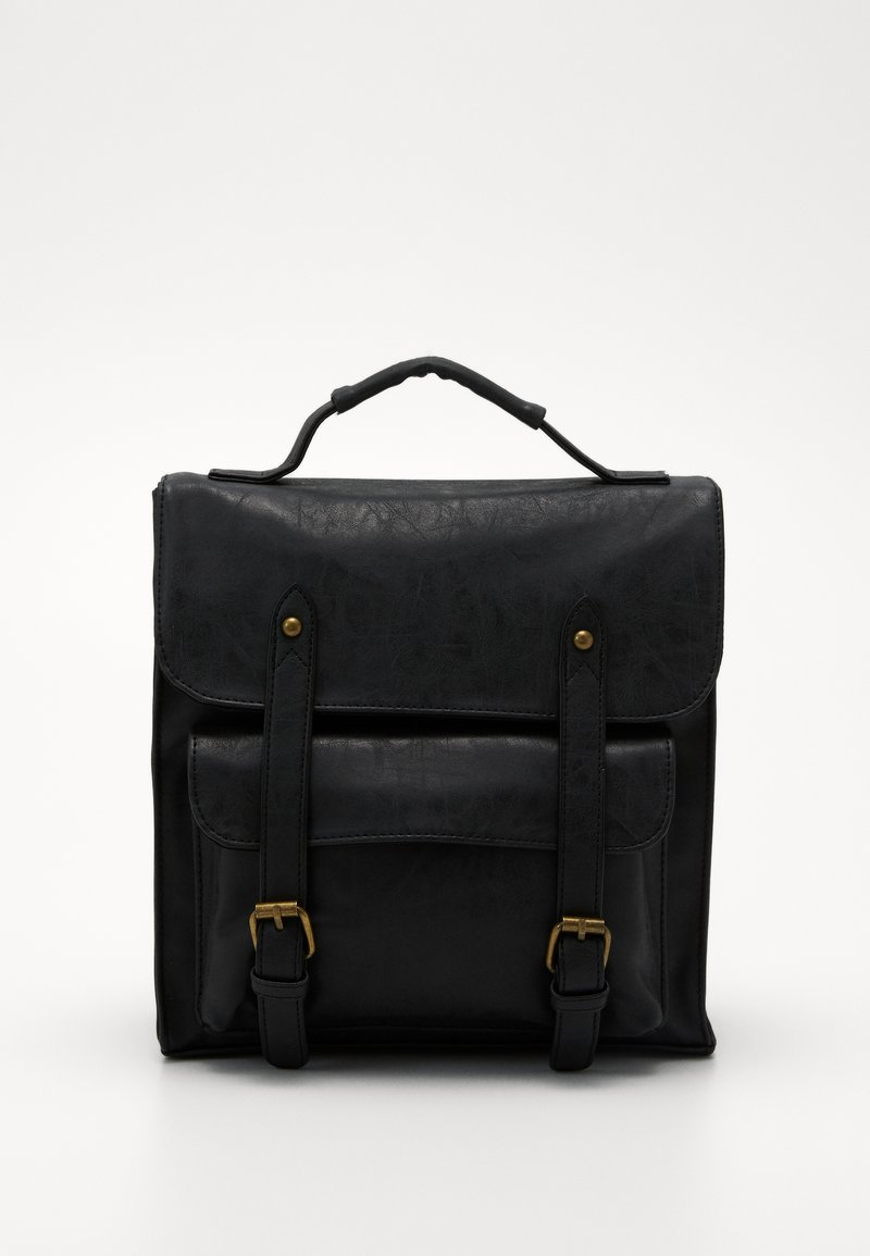 TYPO - SATCHEL BACKPACK - Reppu - black