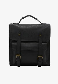 TYPO - SATCHEL BACKPACK - Reppu - black - 1