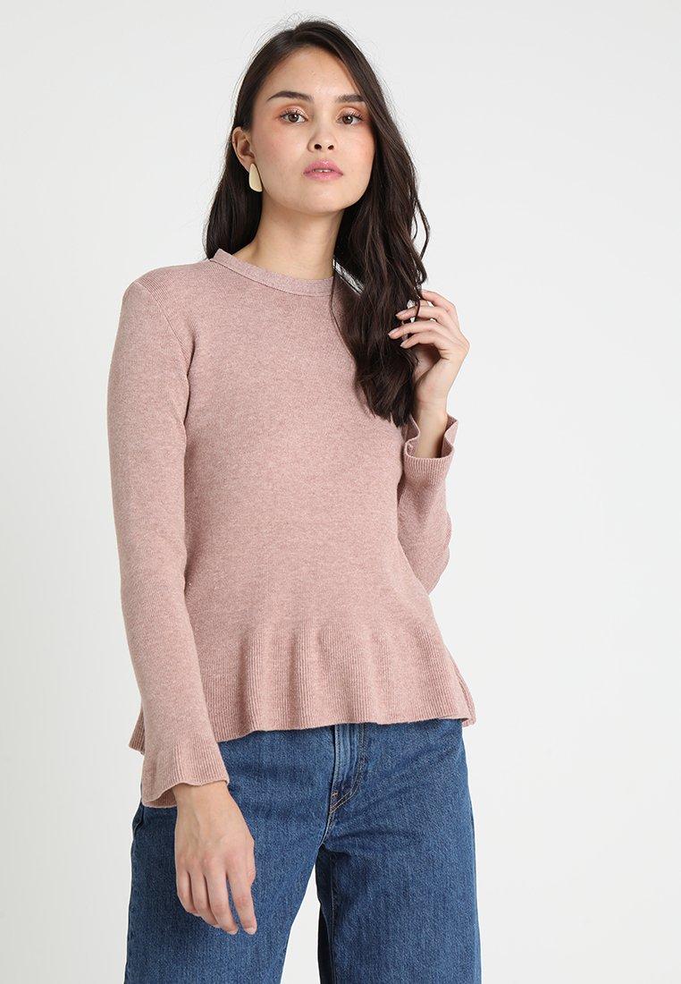 Uno Piu Uno - LESIA - Stickad tröja - rose
