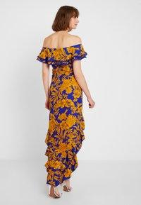 U Collection by Forever Unique - FLORAL - Vestito lungo - blue/orange - 2