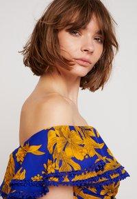 U Collection by Forever Unique - FLORAL - Vestito lungo - blue/orange - 3