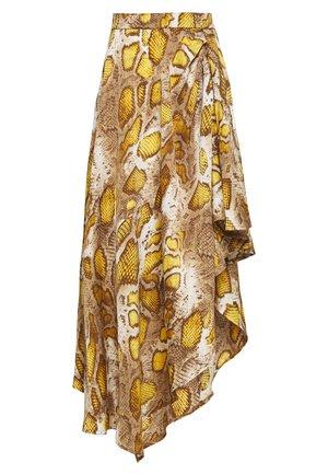 Spódnica trapezowa - yellow
